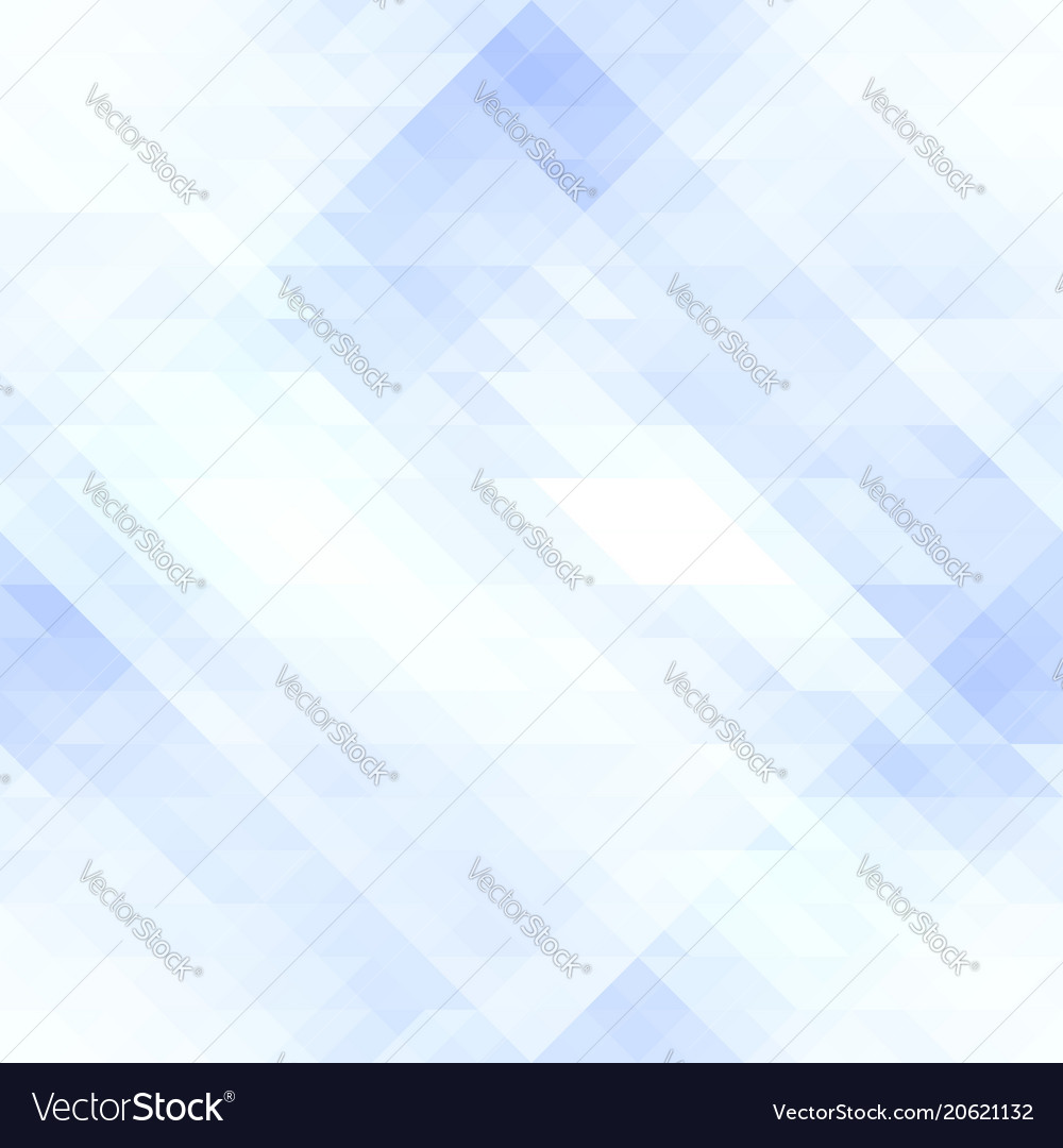 Abstract seamless pattern of pale blue rhombuses