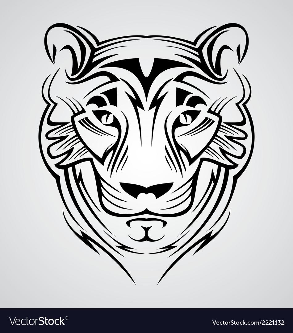 Tiger Head Tribal
