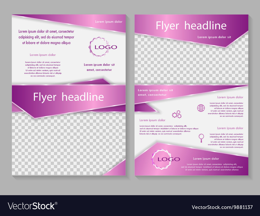 Business brochure or cover