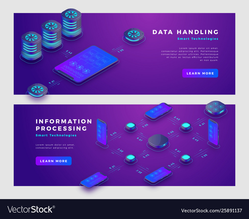 Data handling and information processing concept