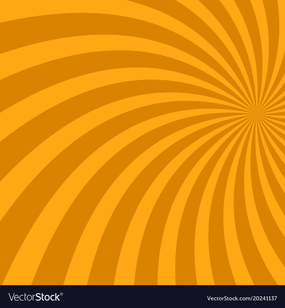 Geometric abstract spiral ray background - design vector image