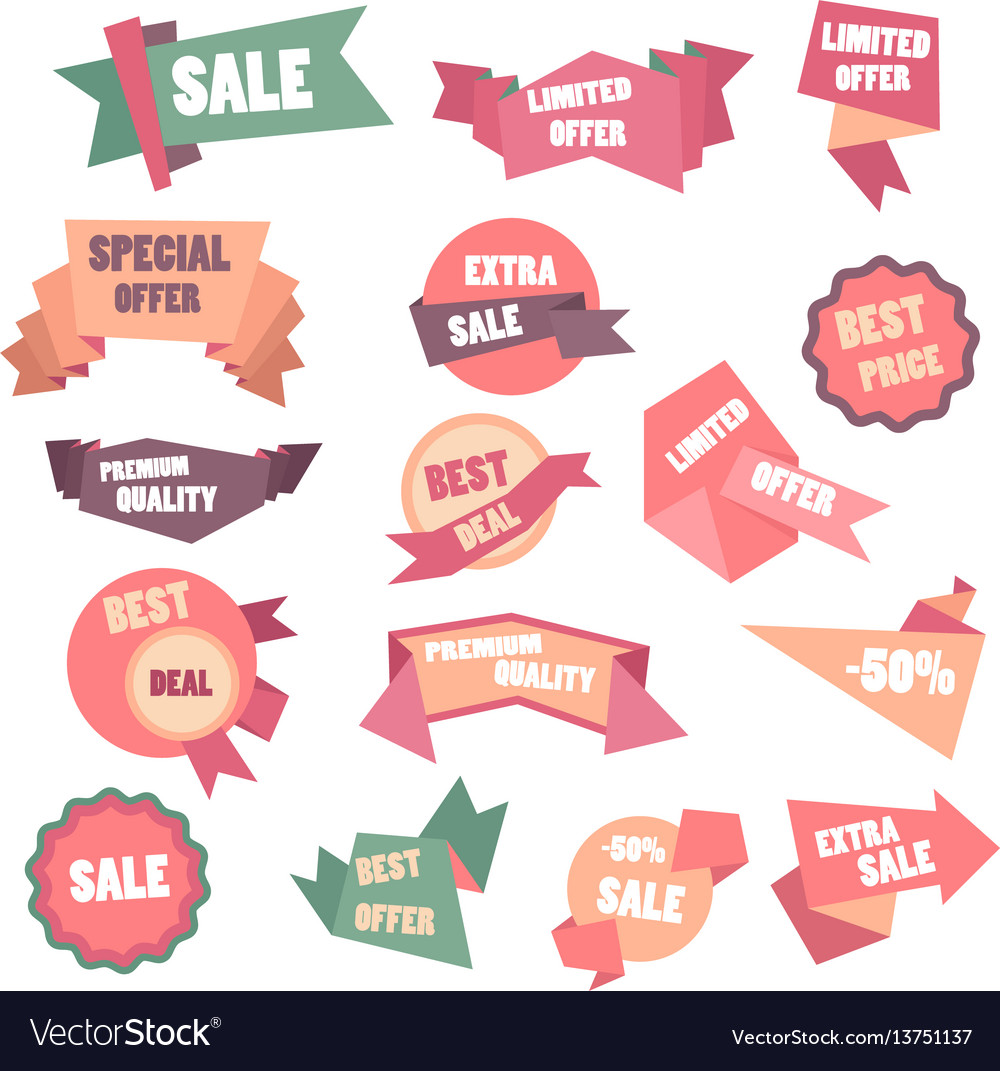 Super big sale shining banner on colorful