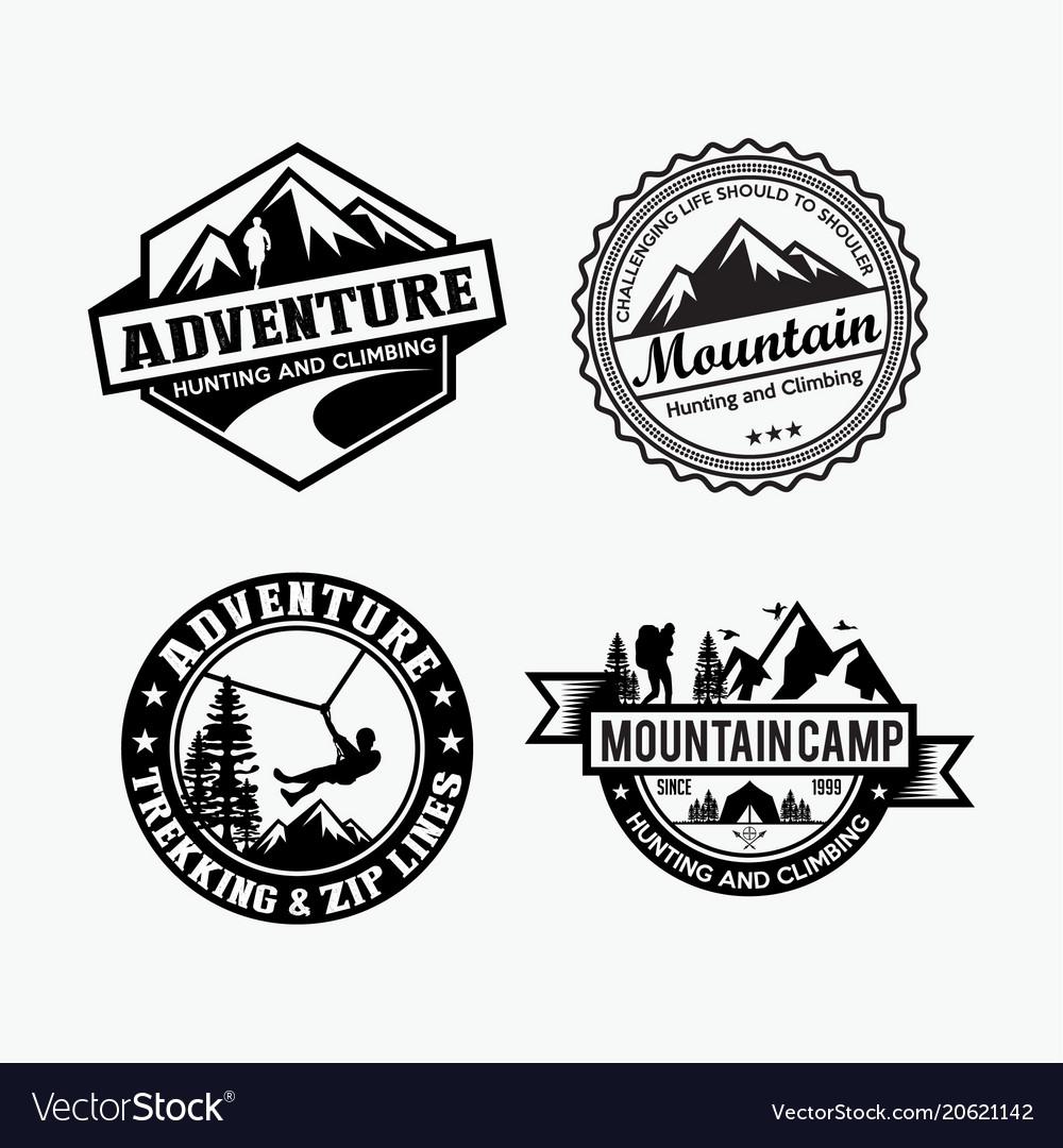Adventure logo badges 4