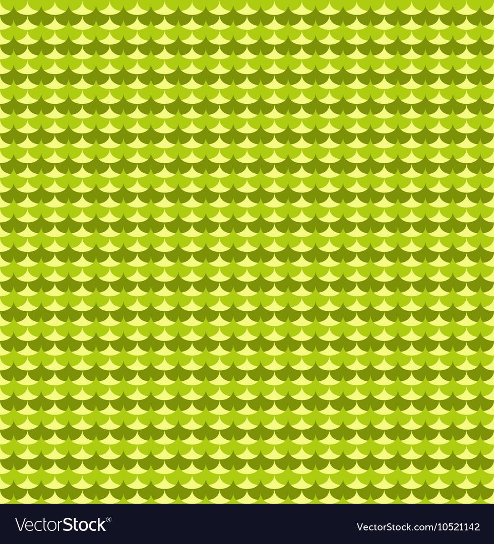 Green ginkgo biloba leaves seamless pattern