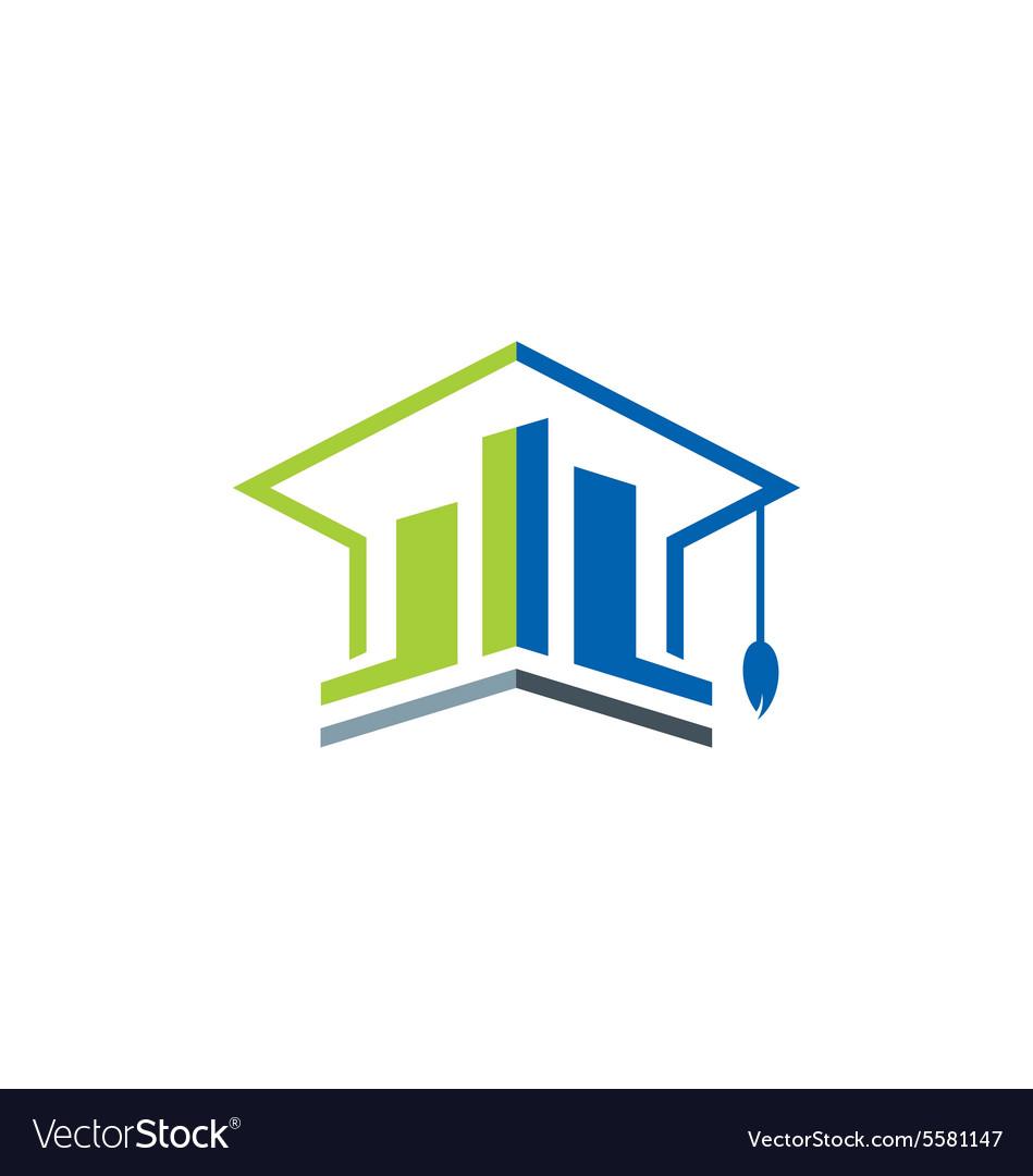 Business education graduate logo