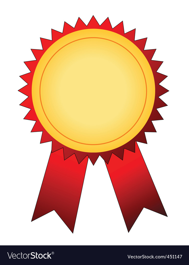 winner badge royalty free vector image