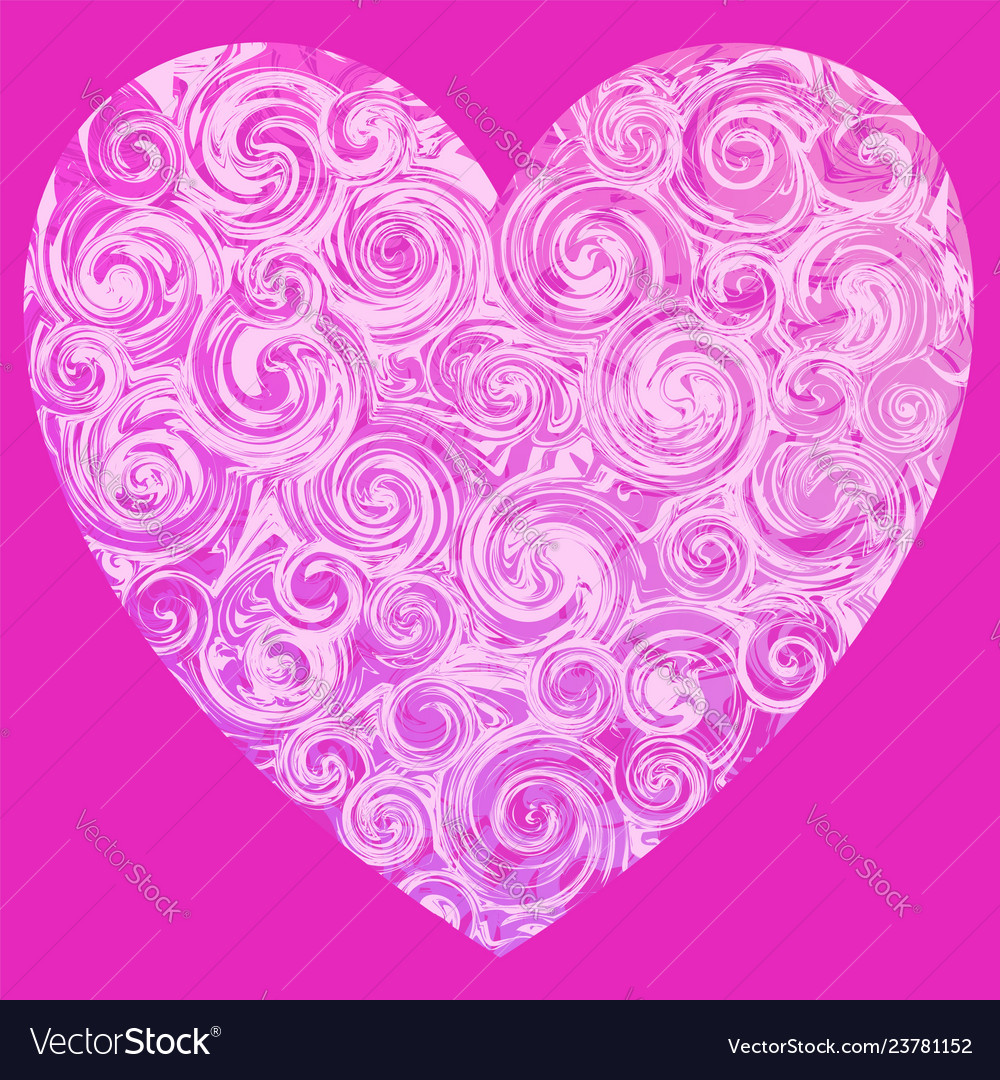 Pink Marble Heart Vector Images 50
