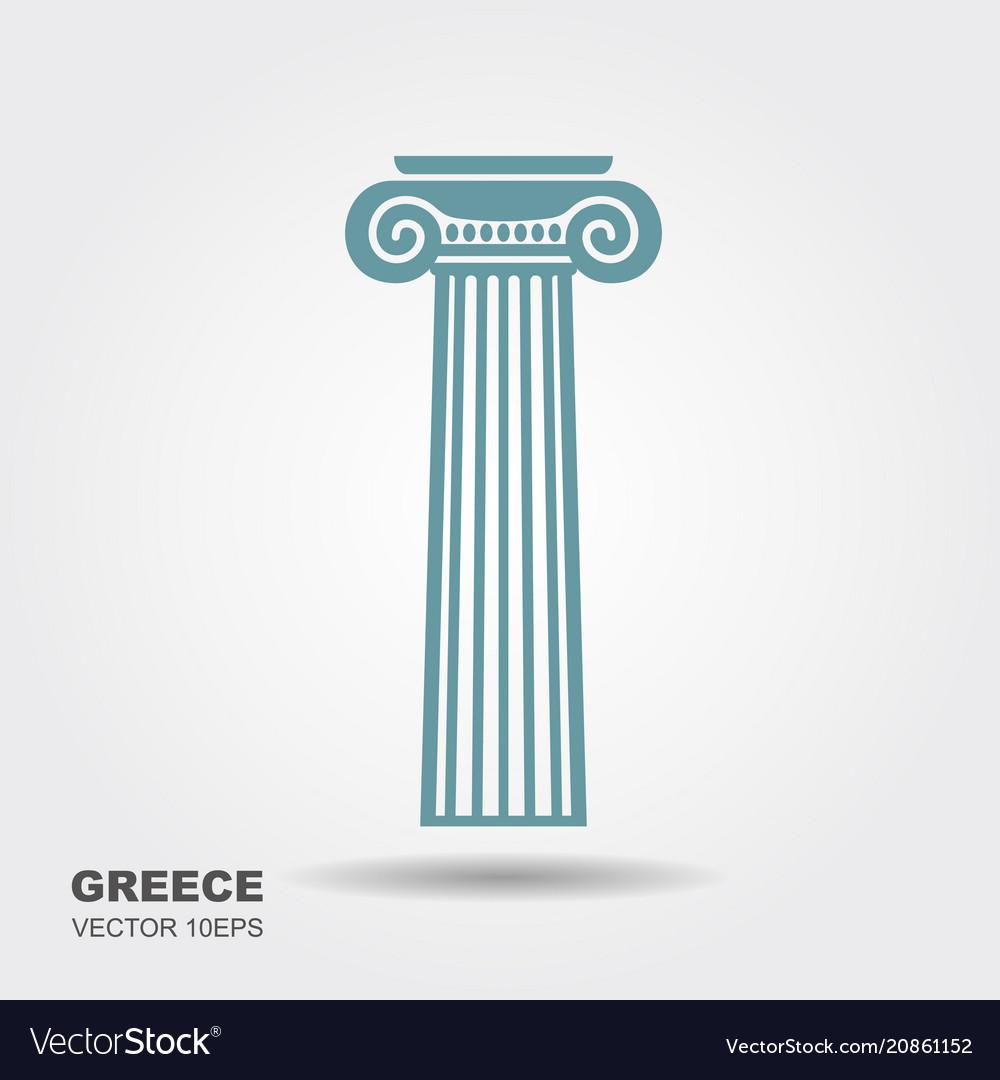 Greek classical column