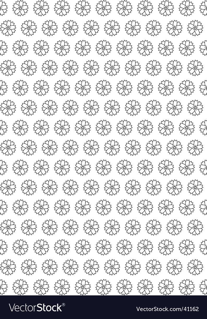 Flower seamless wallpaper