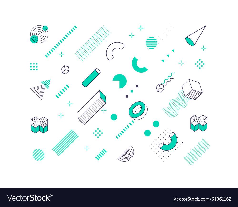 Geometric pattern geometrical shapes