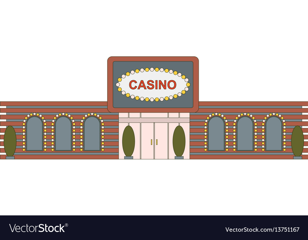 Casino building element for game mobile app or