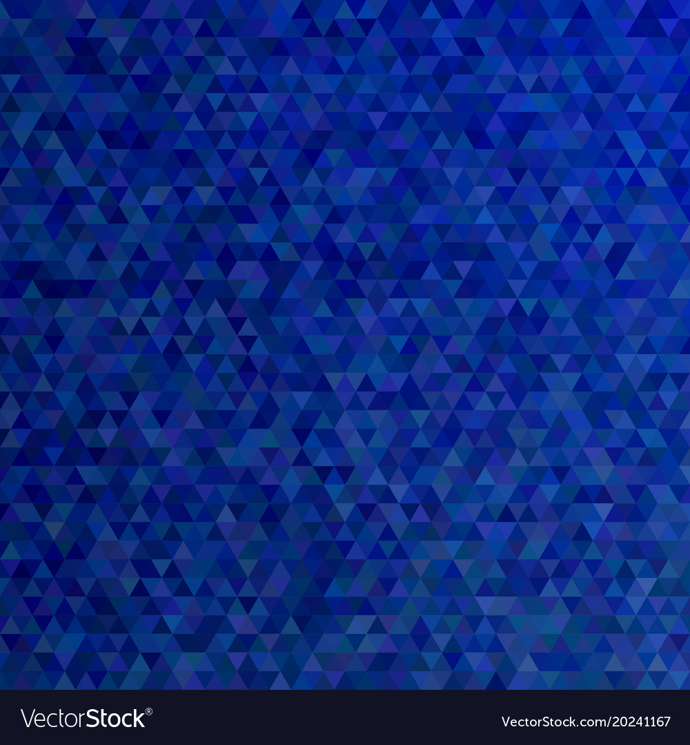 Dark blue polygonal abstract tiled triangle