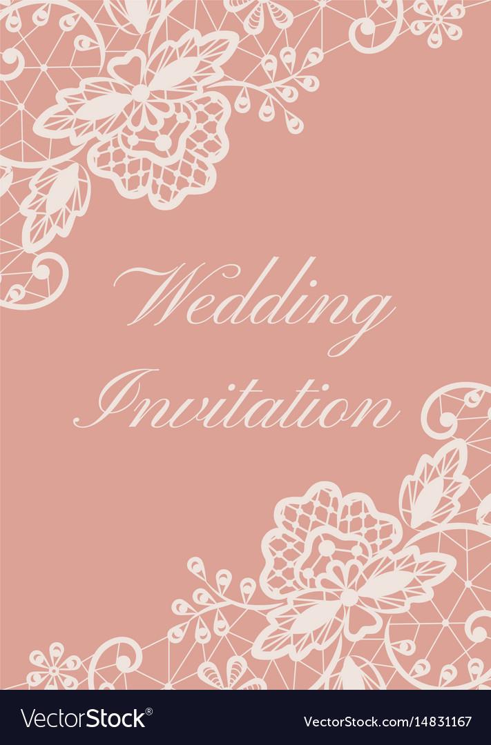 wedding card royalty free vector image  vectorstock