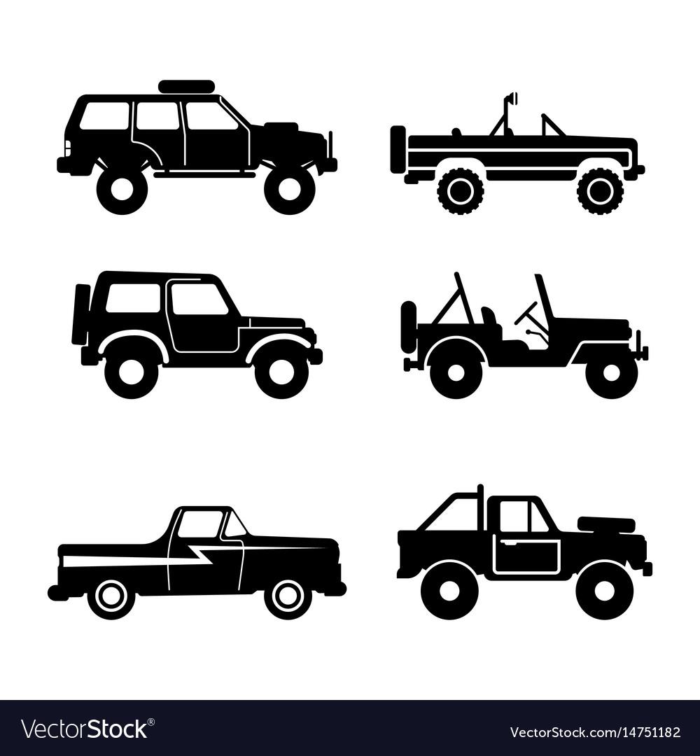 Set off-road vehicle