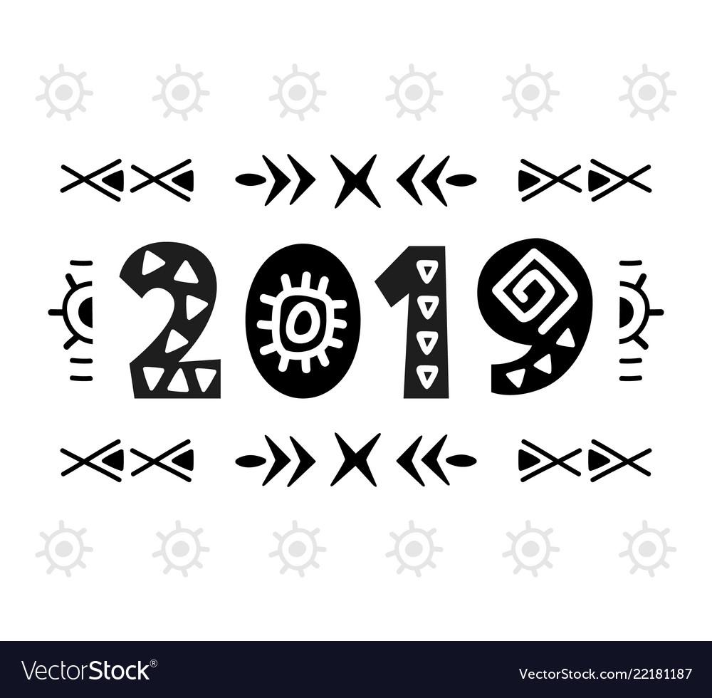 2019 greeting card scandinavian style