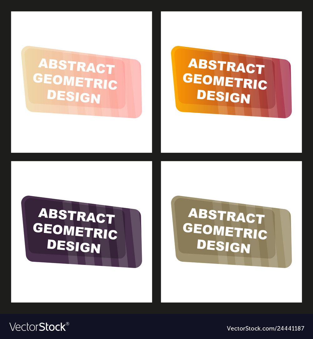Creative abstract geometric background