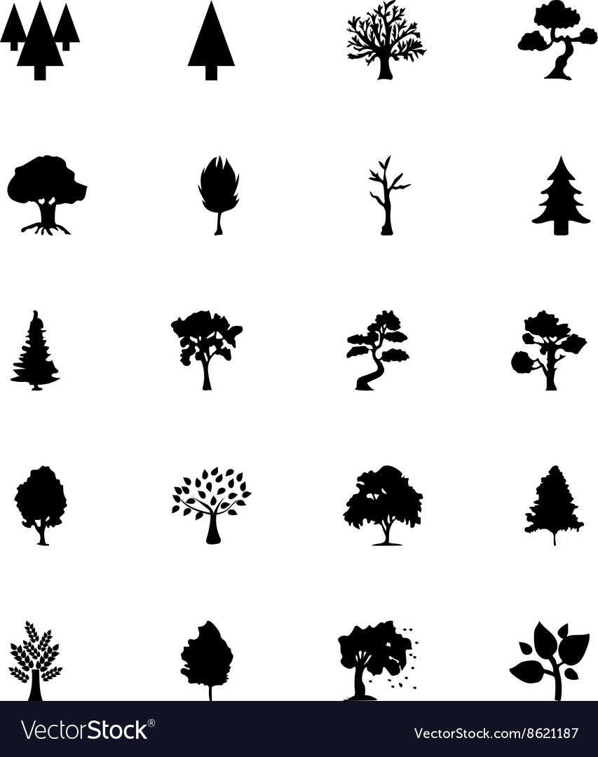 Forest Solid Icons 5