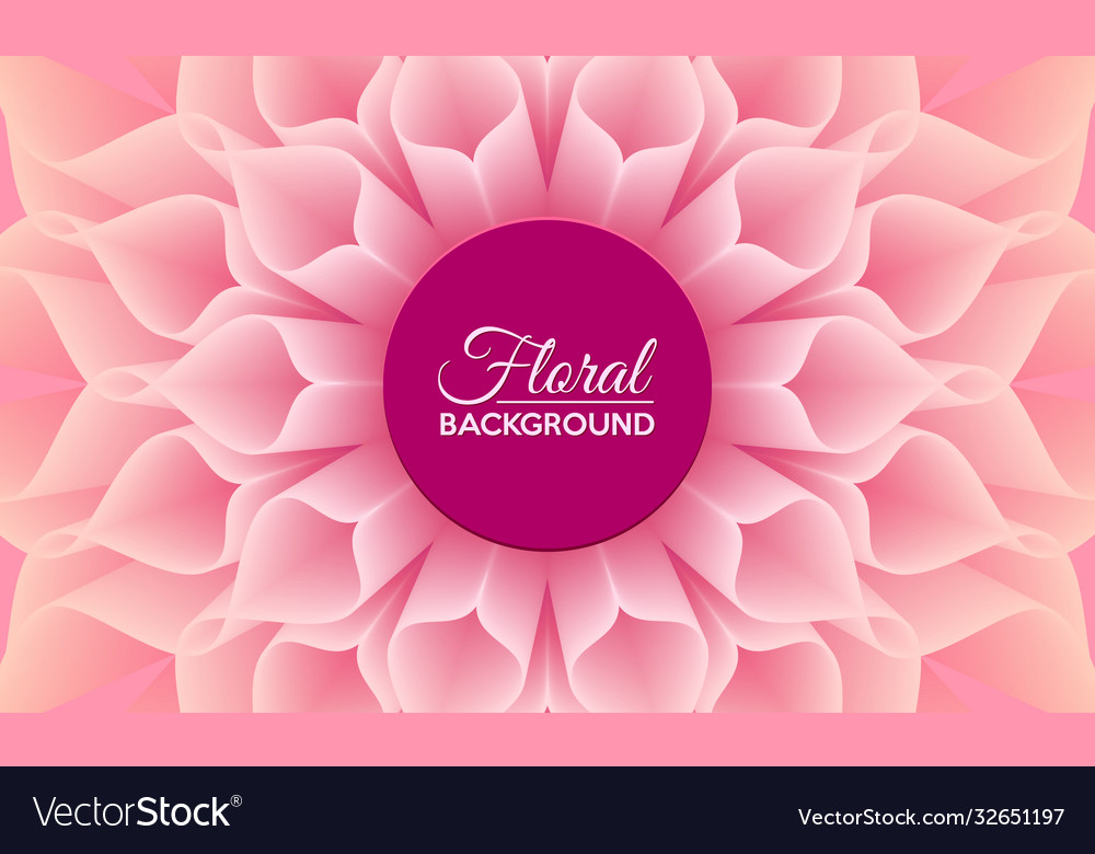Floral background with close up detail big