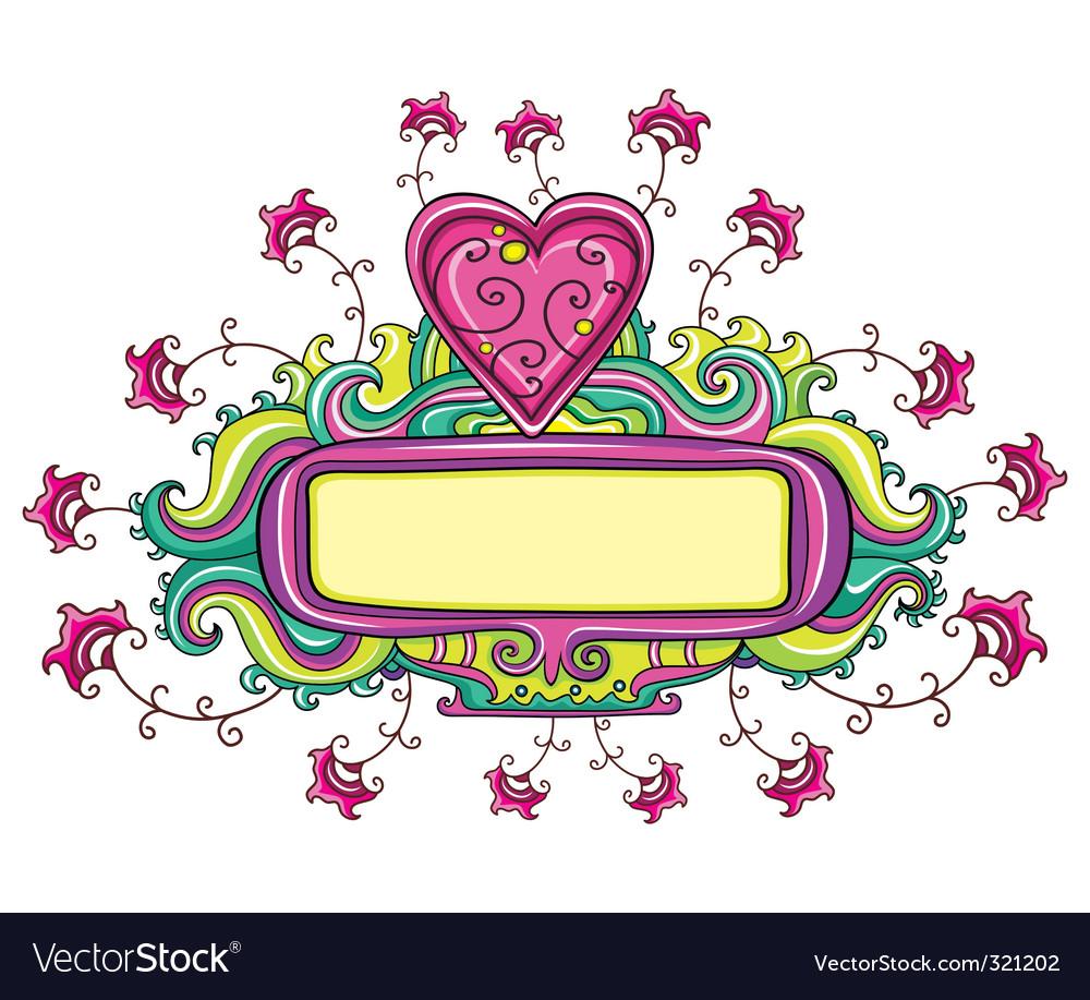 Be my Valentine's vector image