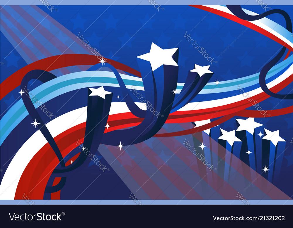 Fourth july banner