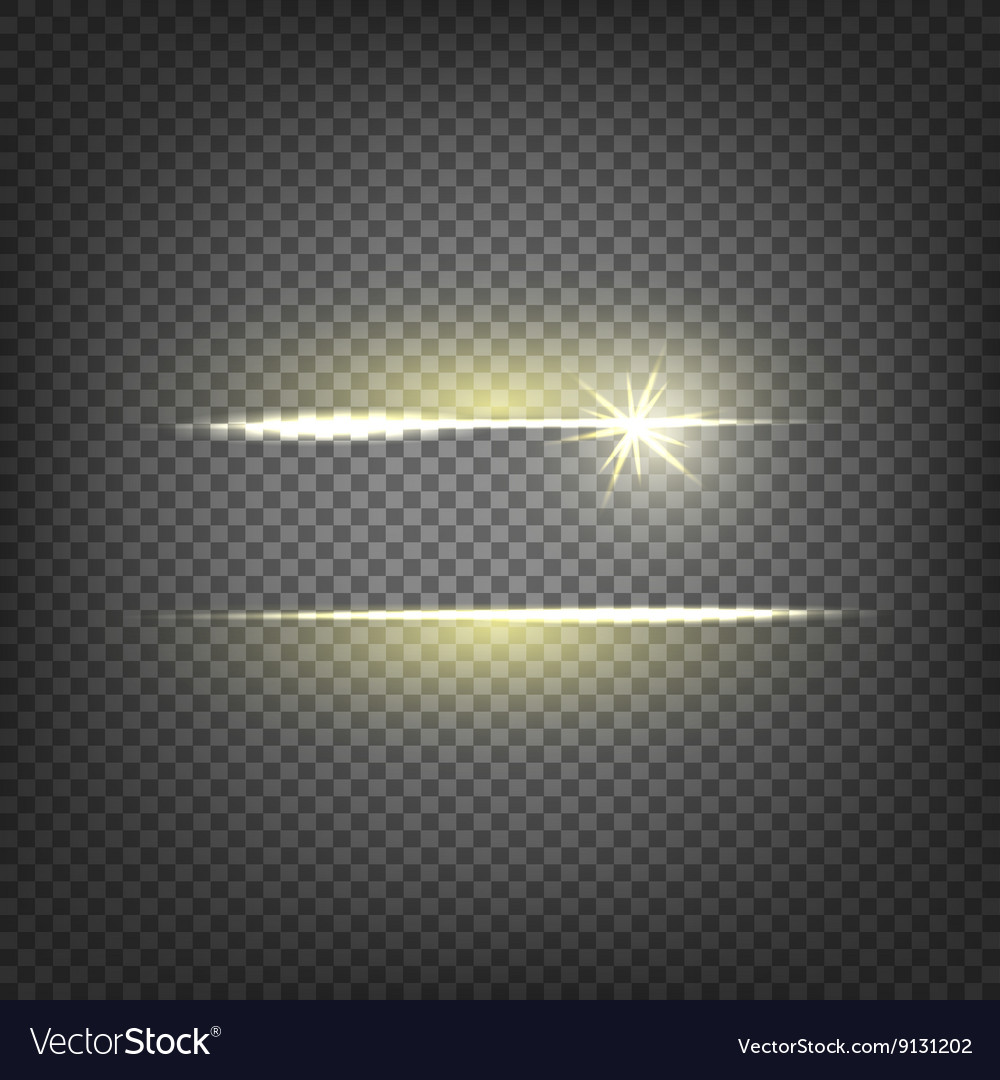 Lighting flare special effect