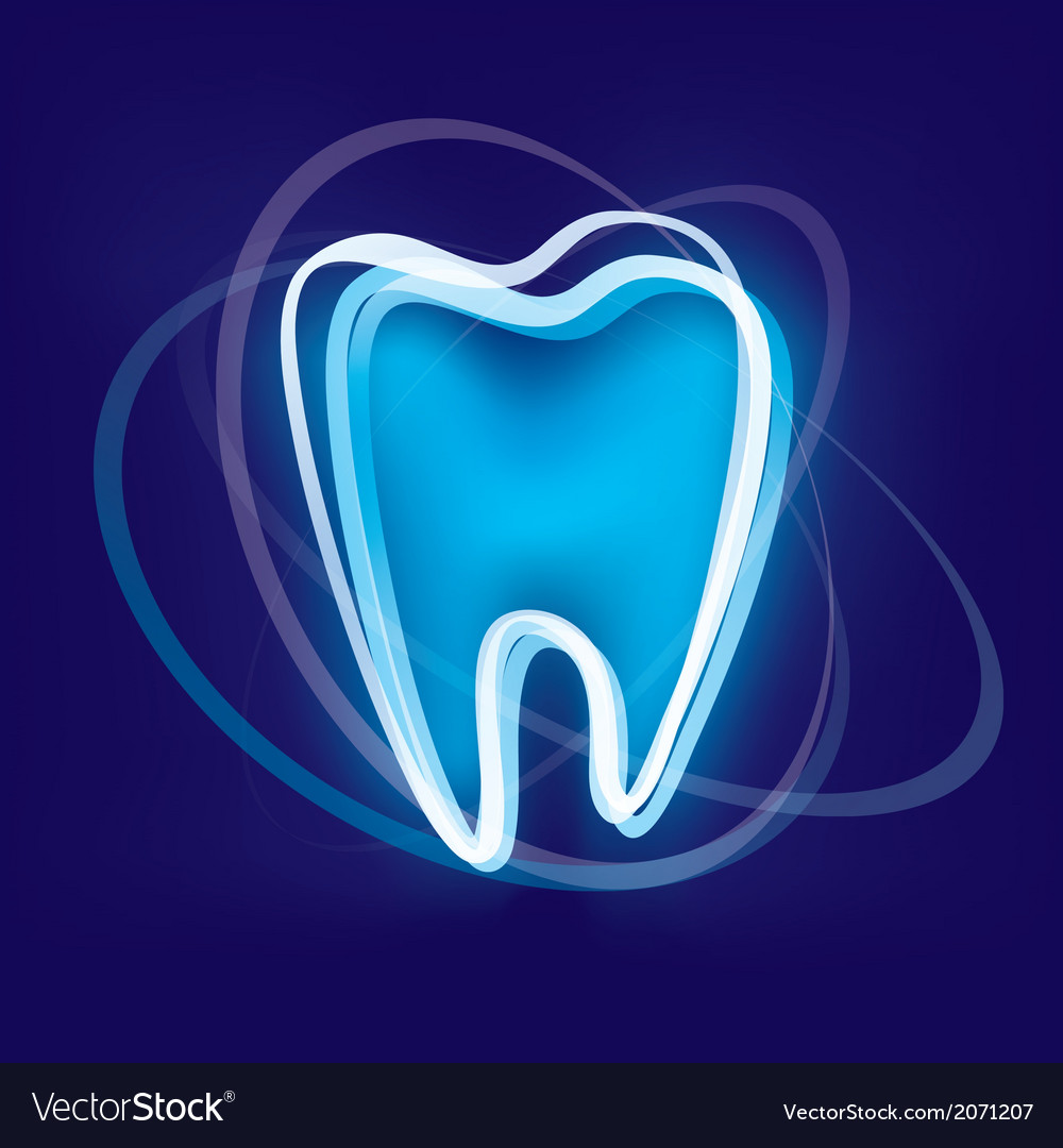 Tooth protection abstract symbol