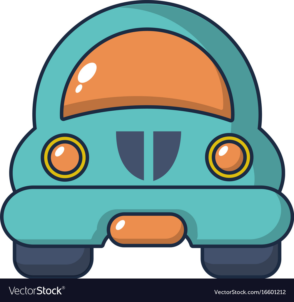 Toy Car Icon Cartoon Style Royalty Free Vector Image