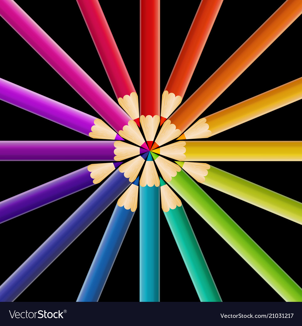 Abstract pencil background
