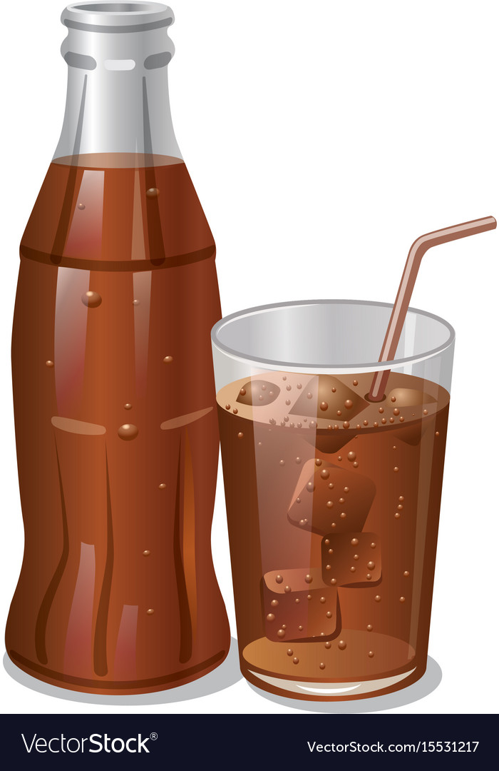 Cold cola drink