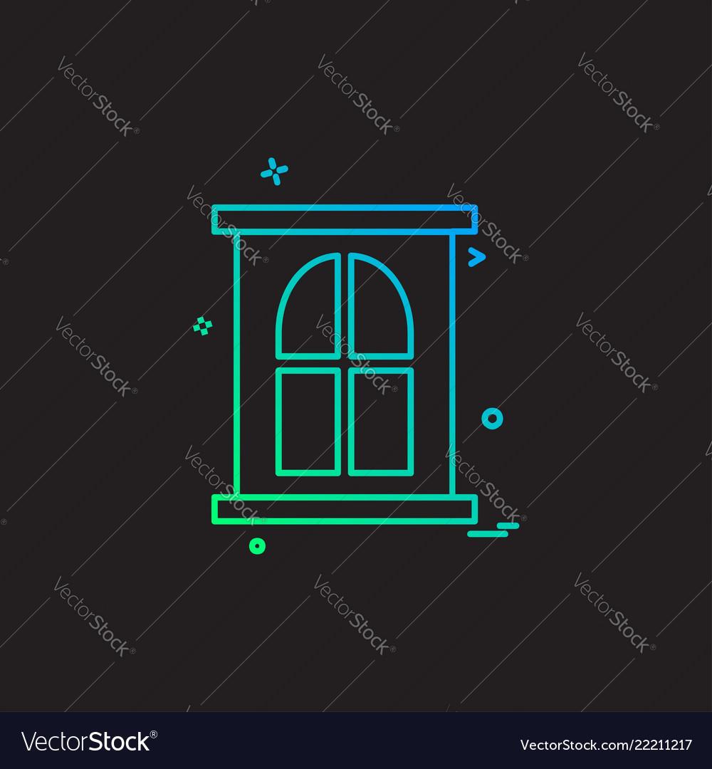 Door icon design