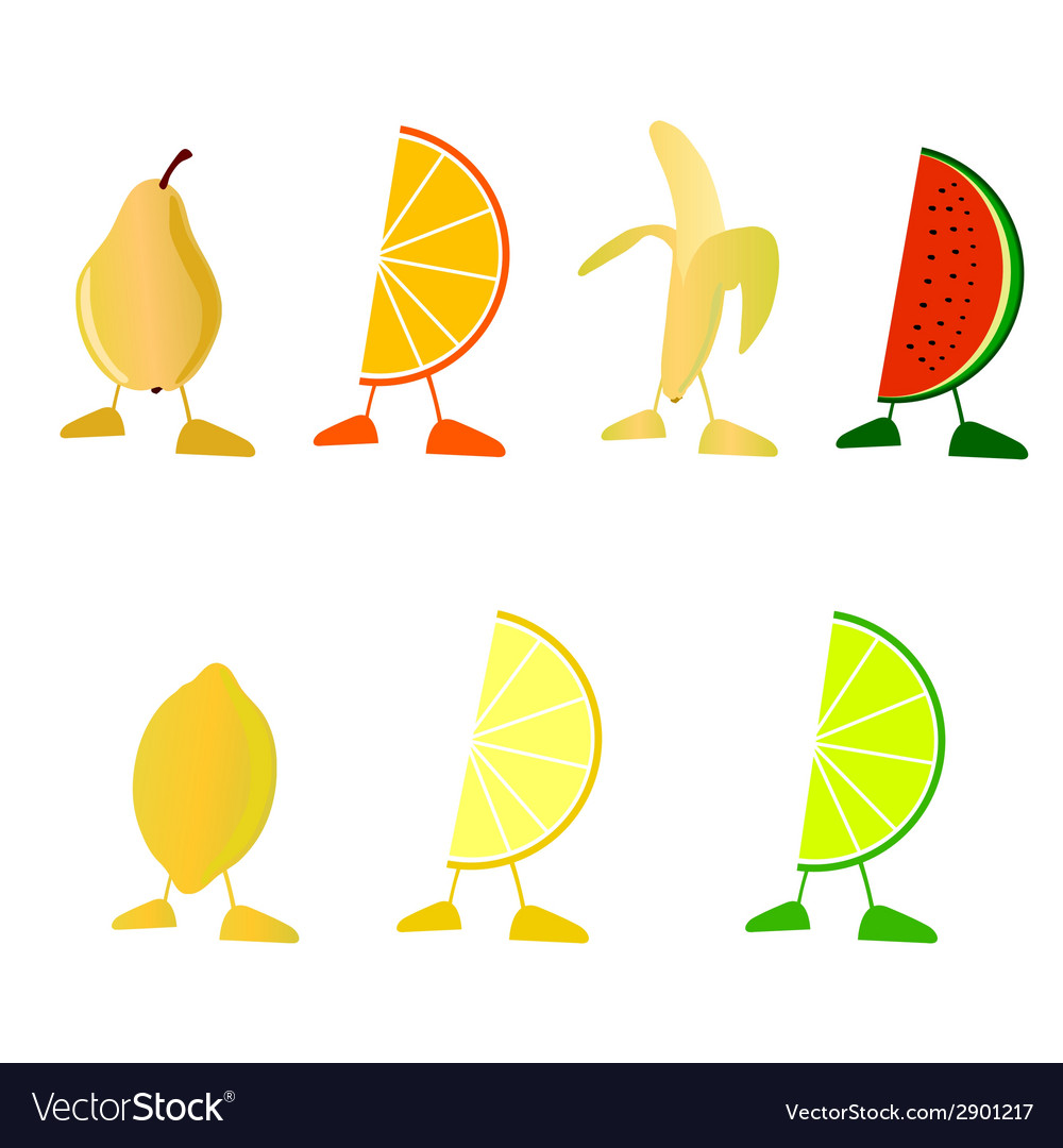 Fruit with legs
