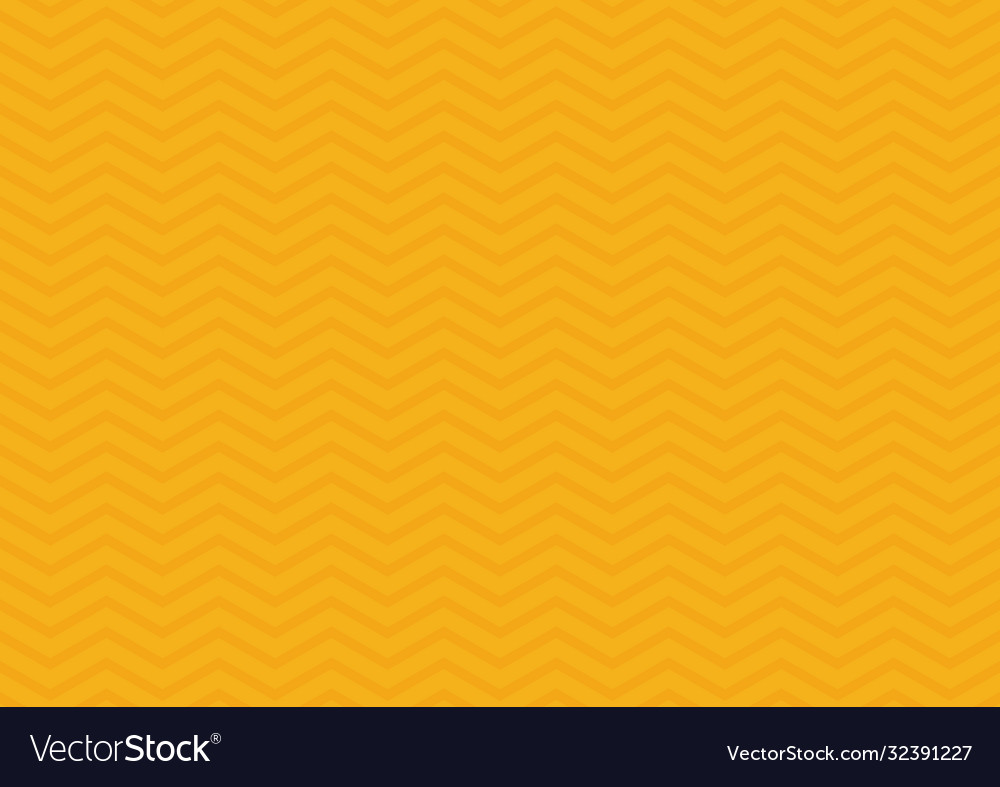 Abstract seamless zig zag line pattern on yellow