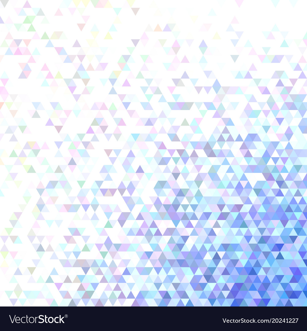 Polygonal abstract tiled triangle background