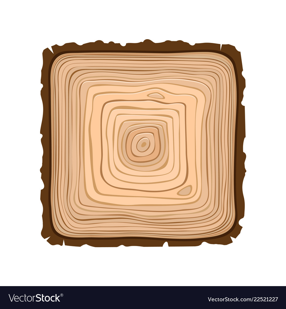 Texture of square sawn wood brown object