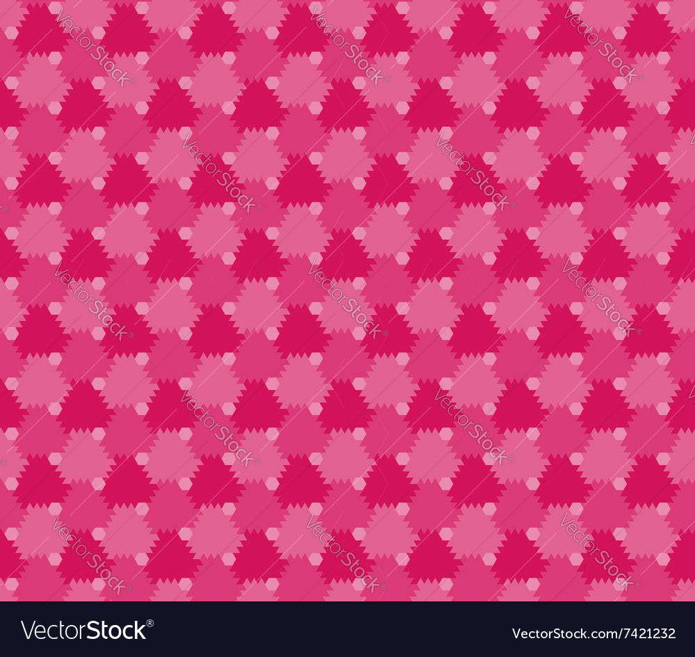 Flowers stylized seamless pattern vector image