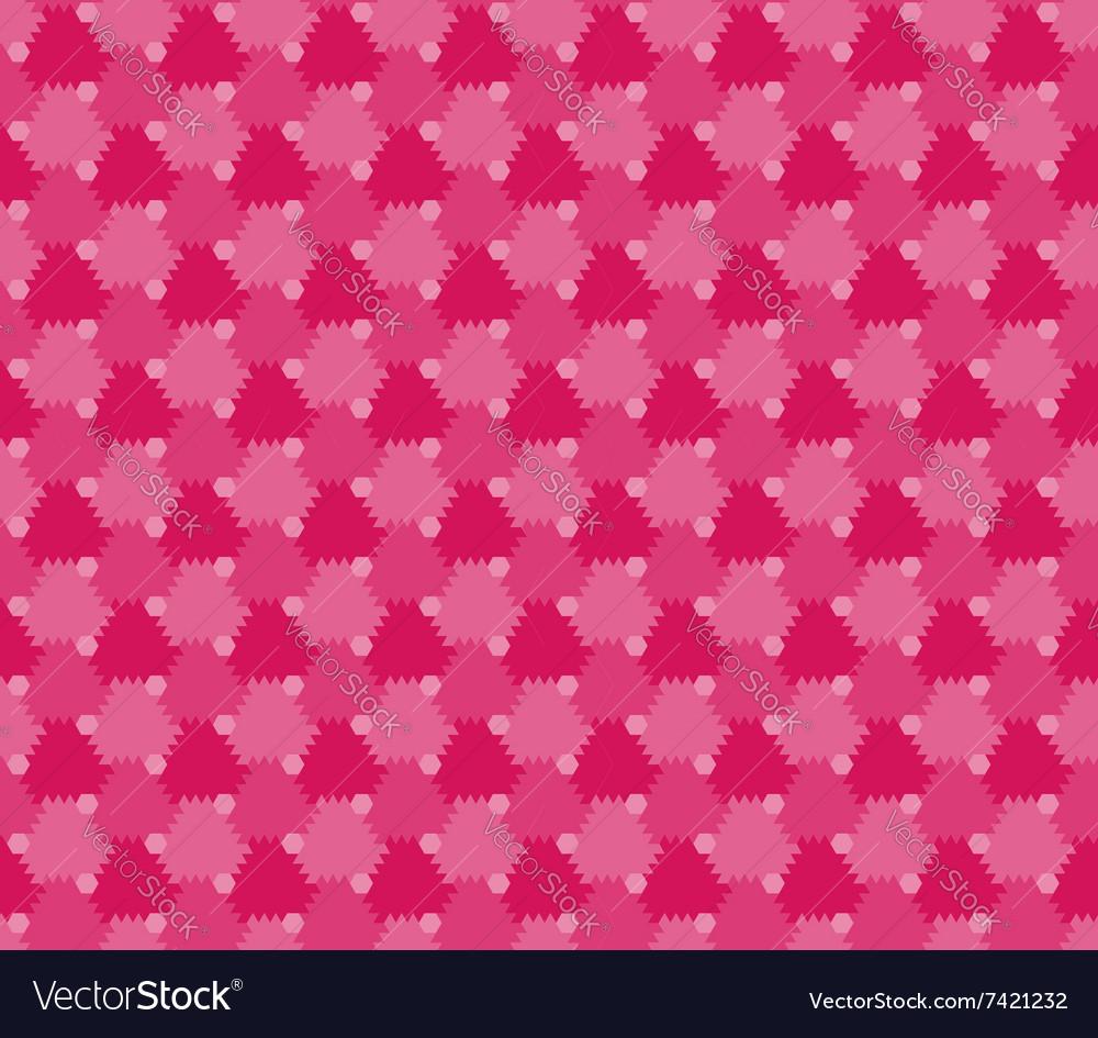 Flowers stylized seamless pattern