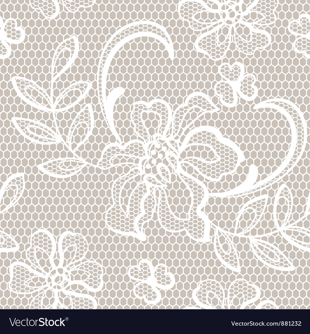 Old lace background ornamental flowers texture