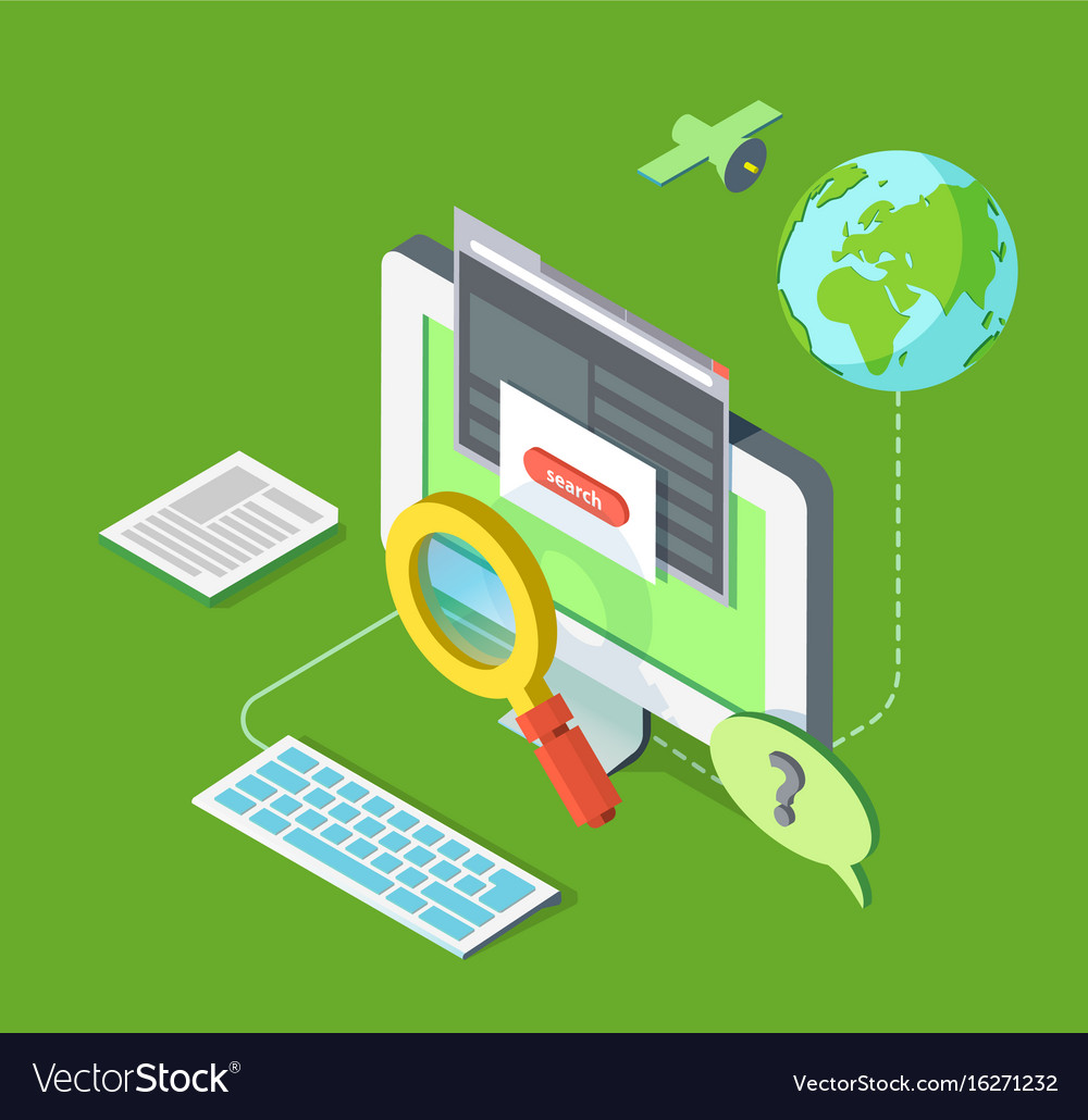 Searching on web
