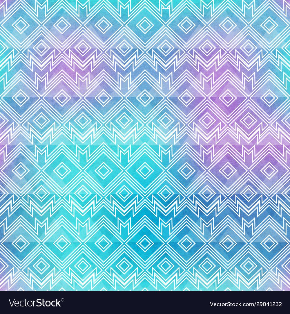 Watercolor vintage seamless pattern