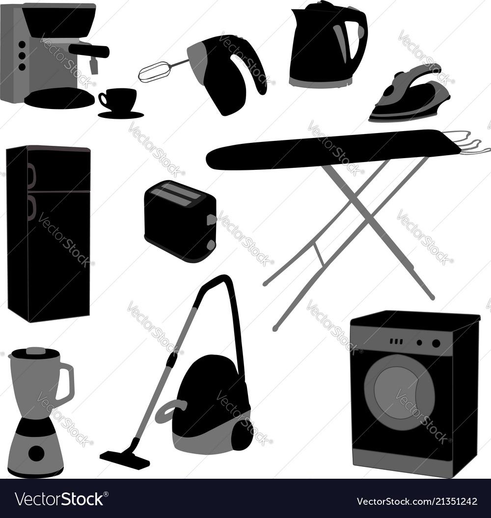 Domestic appliances set