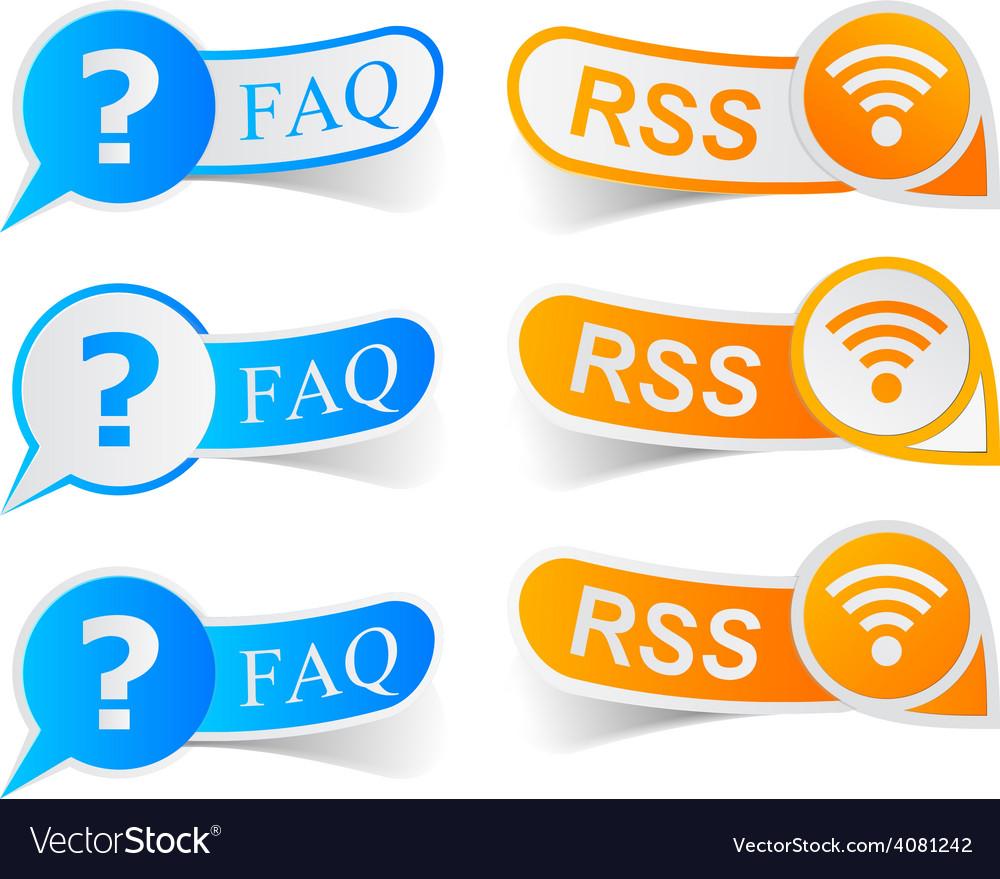 FAQ RSS tags