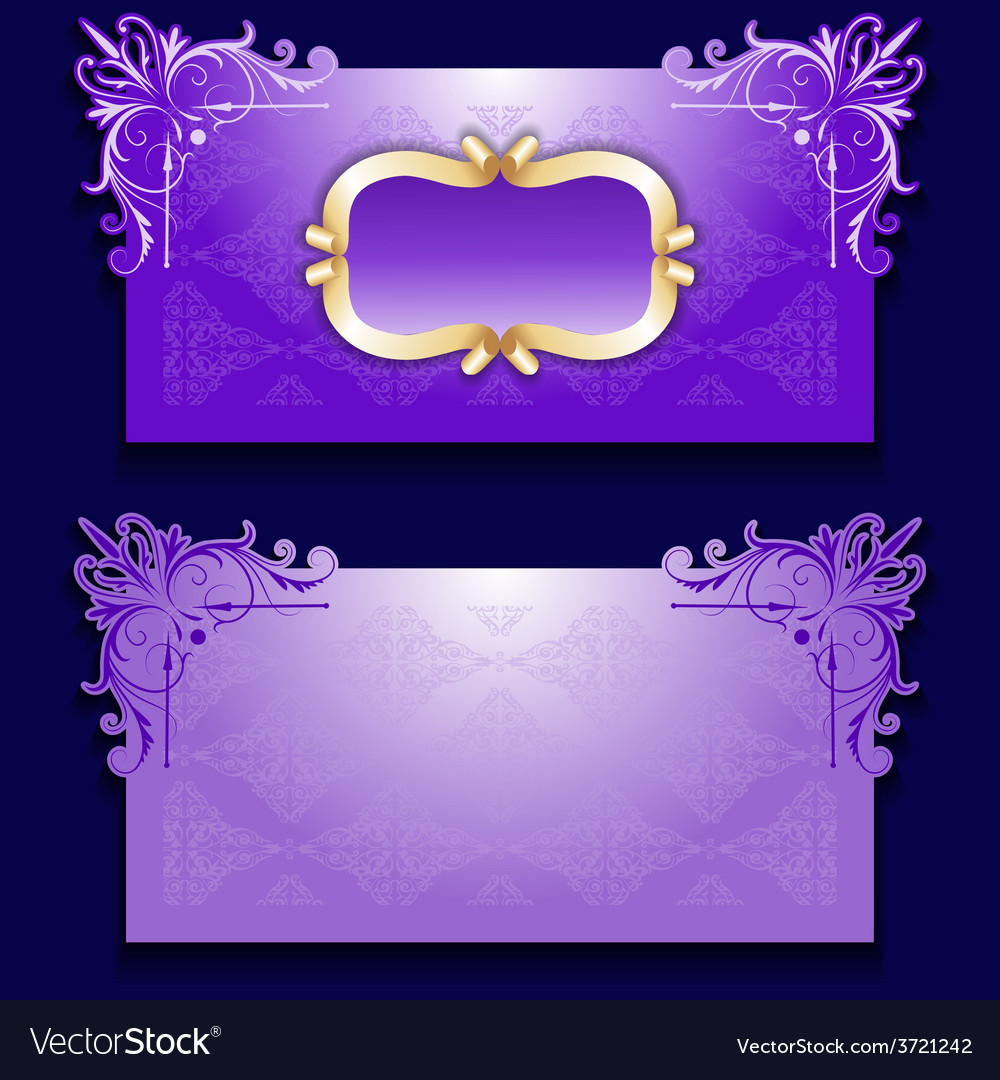 Royal invitation card with frame royalty free vector image royal invitation card with frame vector image stopboris Images