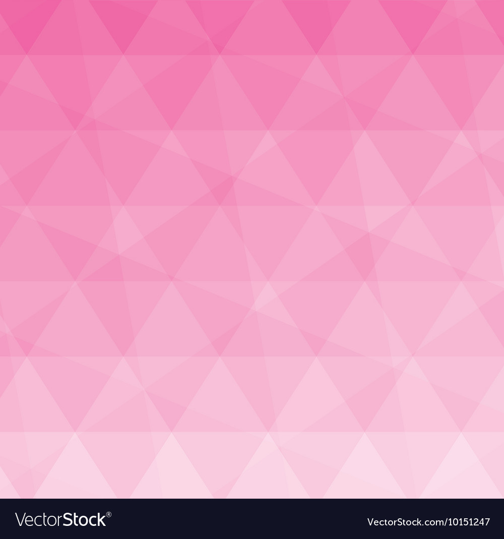 Pink Polygonal Polygon Wallpaper Icon Vector Image