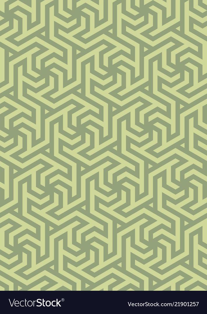 Geometric pattern hexagonal grid