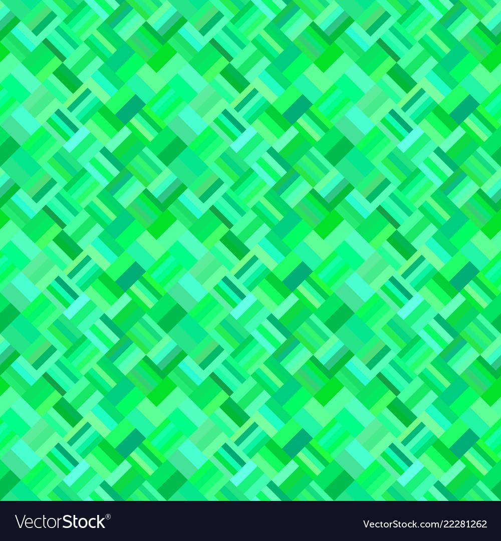 Green seamless abstract diagonal rectangle