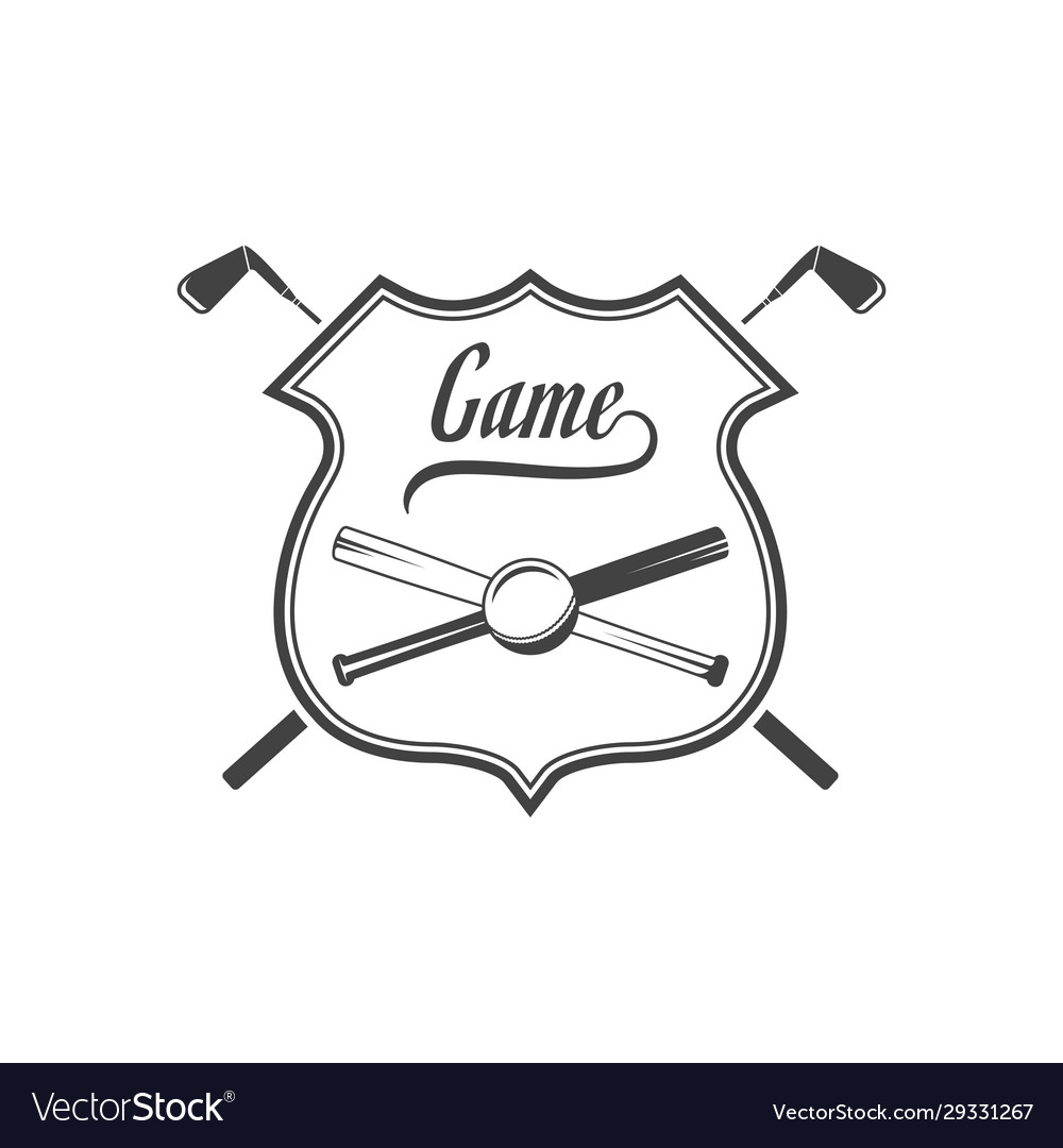 Golf club logotype