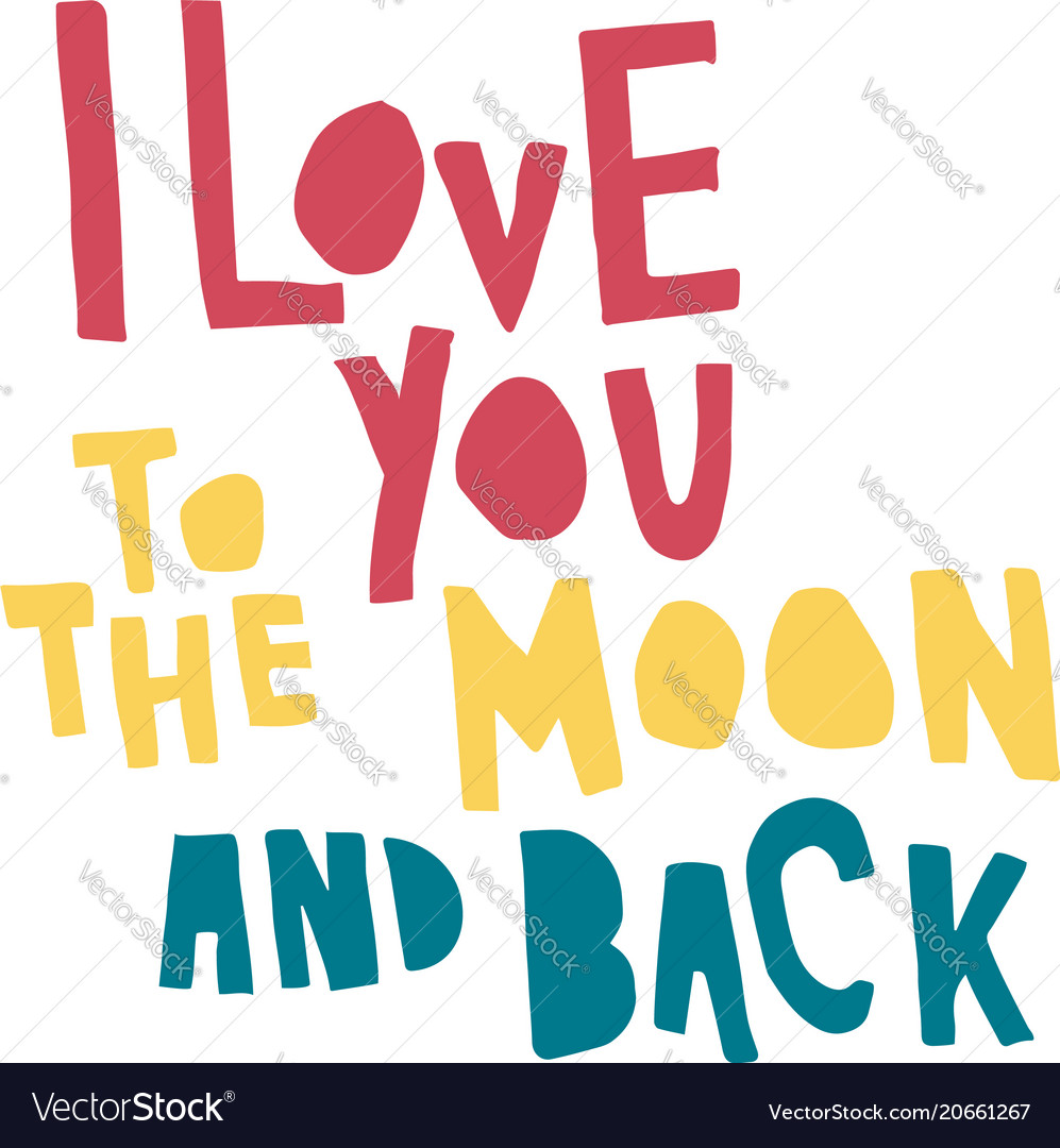 Love moon back color