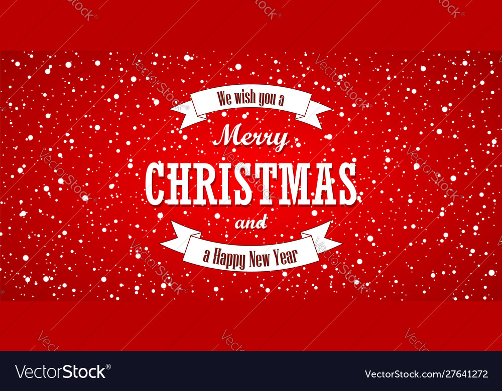 Christmas red background merry christmas and