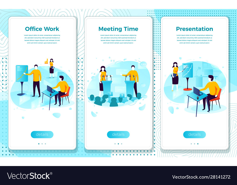 Eps set office presentation meeting time