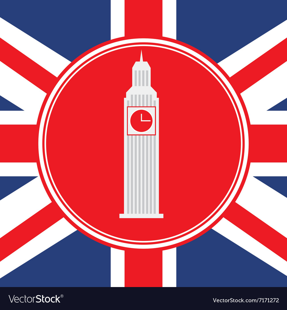 London emblem design vector image